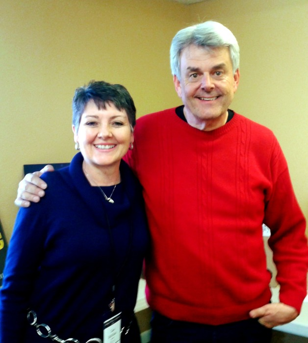Bill Myers & Lisa Buffaloe at Idahope Conference