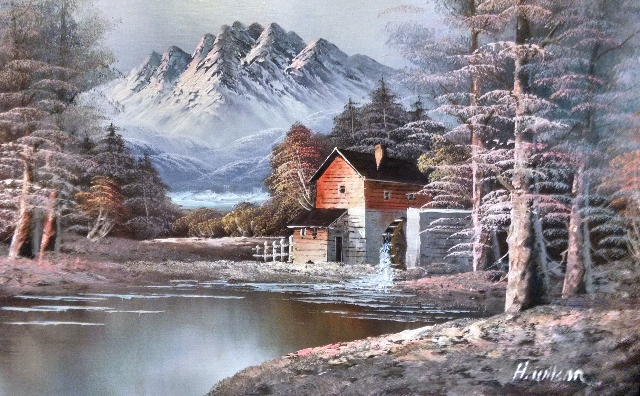 painting-in-lisa-buffaloes-house